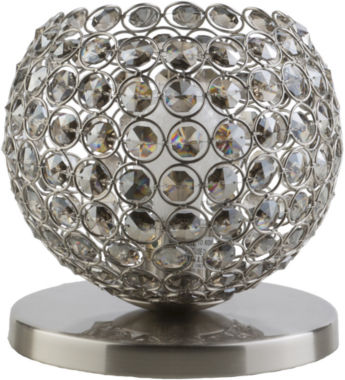 jcpenney.com | Décor 140 Bauman 8x8x8 Indoor Table Lamp - Silver