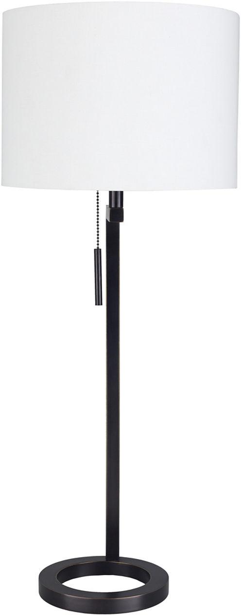 Décor 140 Gwinnett 12x12x30 Indoor Portable Lamp