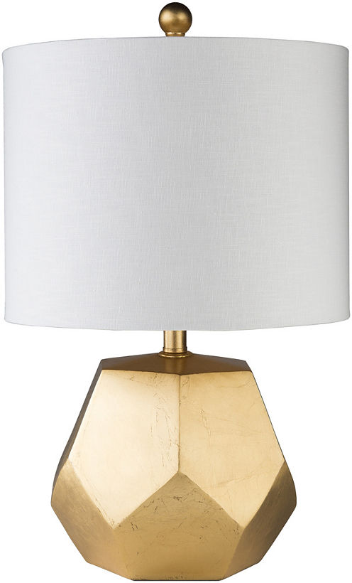 Décor 140 Lili 13x13x21.5 Indoor Table Lamp - Gold
