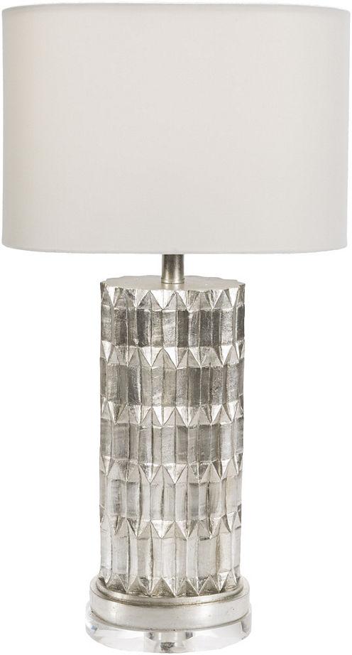 Décor 140 Lockley 27.5x15x8.5 Indoor Table Lamp -Silver