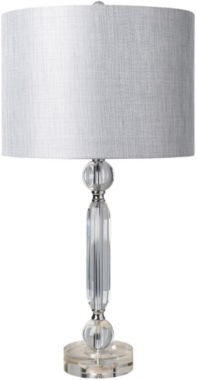 jcpenney.com | Décor 140 Mandarin 14x14x27 Indoor Table Lamp - Silver