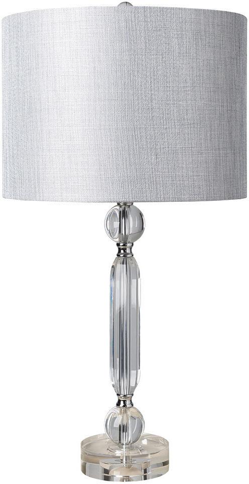 Décor 140 Mandarin 14x14x27 Indoor Table Lamp - Silver