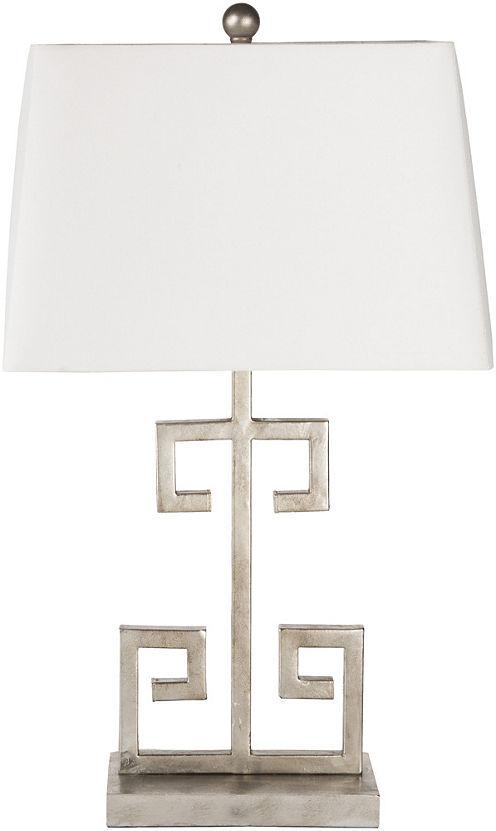 Décor 140 Merida 25.5x10x15 Indoor Table Lamp - Silver