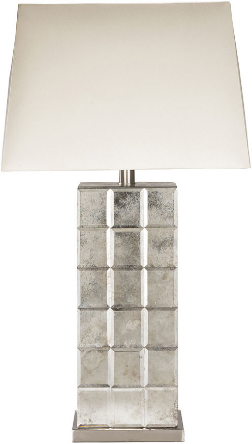 Décor 140 Selker 26x10x15 Indoor Table Lamp - Silver