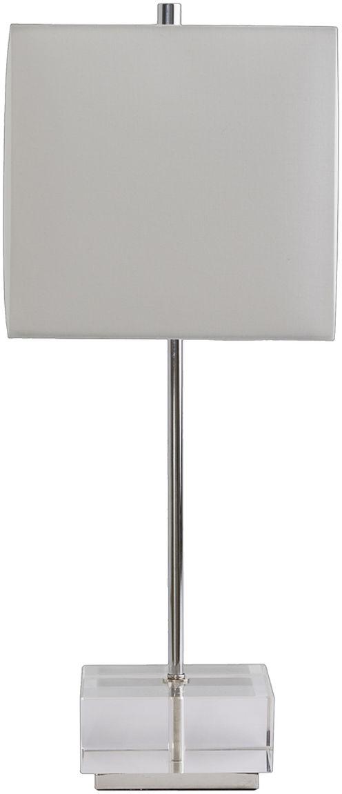 Décor 140 Stuart 24x10x10 Indoor Table Lamp - Silver
