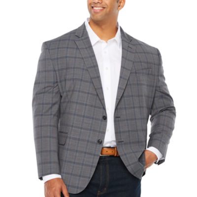 Stafford Classic Fit Grid Sport Coat   Big And Tall by Stafford
