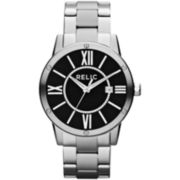 Relic® Payton Mens Silver-Tone Watch