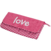 Mele & Co. Penny Embroidered Love Travel Jewelry Clutch