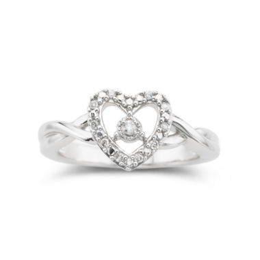 jcpenney.com | Diamond-Accent Heart Ring