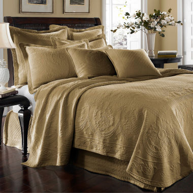 jcpenney.com | Historic Charleston Collection™ King Charles Matelassé Coverlet
