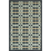 Martha Stewart Rugs™ Colorweave Plaid Rectangular Rugs – Wrought Iron