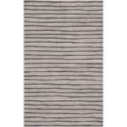 Martha Stewart Rugs™ Hand-Drawn Stripe Rectangular Rugs – Wampum