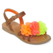 Okie Dokie® Petals  Girls Sandals - Toddler