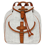 Arizona Quinn White Lace Backpack