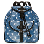Arizona Quinn Washed Denim Backpack