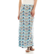 Decree® Side-Slit Maxi Skirt