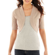 Worthington® Short-Sleeve Bolero Cardigan