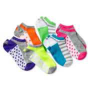 Maidenform 6-pk. No-Show Socks - Girls