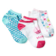 Maidenform 3-pk. Cupcake Low-Cut Socks - Girls