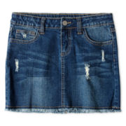 Total Girl® Denim Skirt - Girls 6-16 and Plus