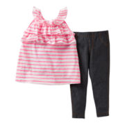Carter's® 2-pc. Striped Pant Set - Girls 2t-4t