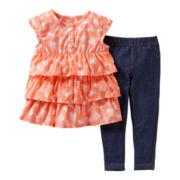 Carter's® 2-pc. Bunny Pant Set - Girls newborn-24m
