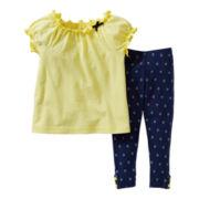 Carter's® 2-pc. Anchor Pant Set - Girls newborn-24m