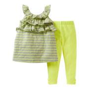 Carter's® 2-pc. Striped Pant Set - Girls newborn-24m