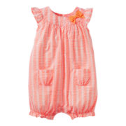 Carter's® Fish Print Romper - Girls newborn-24m