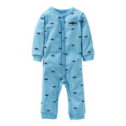 Carter's® Shark Footless Sleep & Play - Boys newborn-9m
