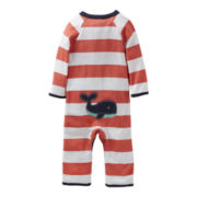 Carter's® Whale Footless Sleep & Play - Boys newborn-9m