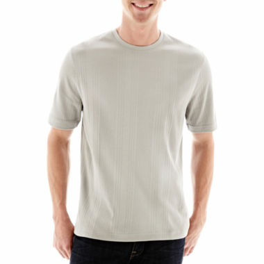 jcpenney.com | Claiborne® Drop-Needle Tee