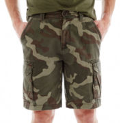 St. John's Bay® Camo Cargo Shorts
