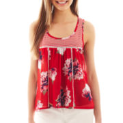 Olsenboye® Babydoll Sleeveless Top