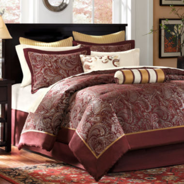 jcpenney.com | Madison Park Churchill 12-pc. Complete Bedding Set with Sheets