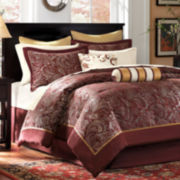 Madison Park Churchill 12-pc. Bedding Set with Sheets