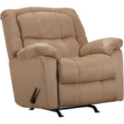 Fulton Fabric Rocker Recliner