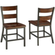 Cabin Creek Set of 2 Side Chairs
