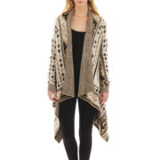 i jeans by Buffalo Long-Sleeve Intarsia Cardigan