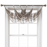 Queen Street Farmington Tab-Top Waterfall Valance