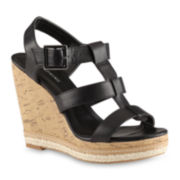 Call it Spring™ Dalidien Strappy Wedge Sandals