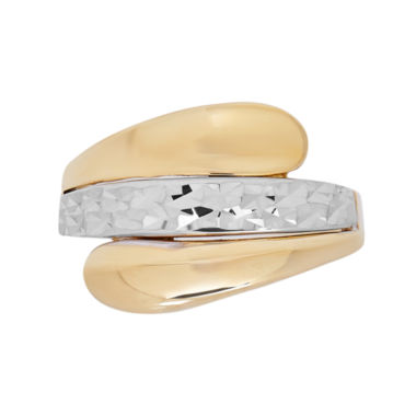 jcpenney.com | Womens 14K Gold Bypass Ring