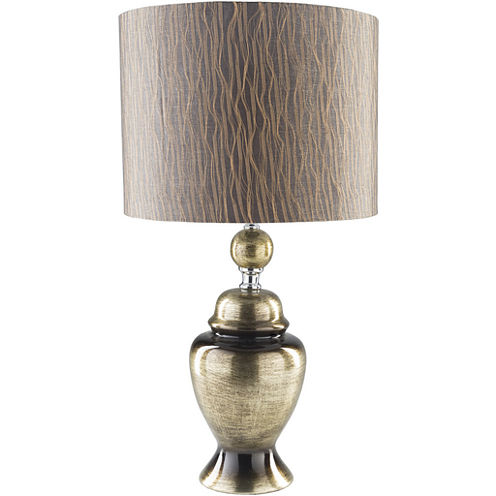 Décor 140 Armstrong  24.75x13.25x13.25 Indoor Table Lamp - Gold