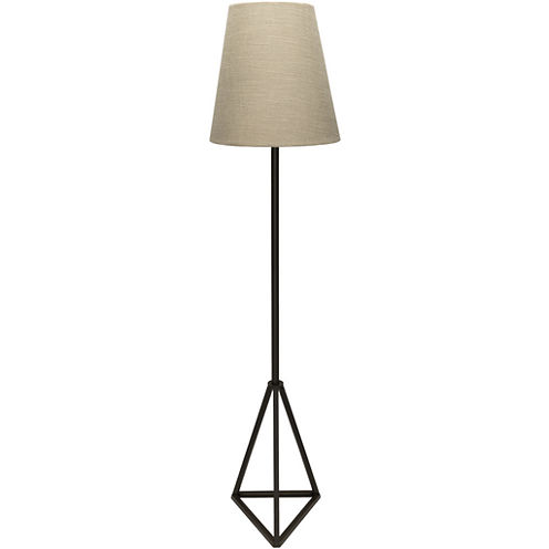 Décor 140 Barik 60x14x14 Indoor Floor Lamp - Black