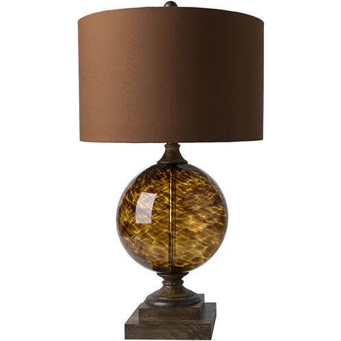 Décor 140 Buga 16x16x28.5 Indoor Table Lamp - Brown