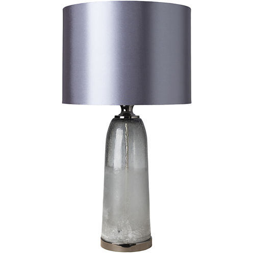 Décor 140 Catahoula 15x15x28 Indoor Table Lamp -Gray