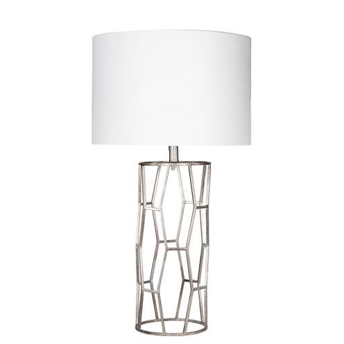 Décor 140 Cerletti 28.5x15x15 Indoor Table Lamp- Silver