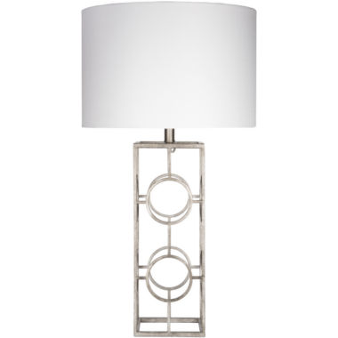 jcpenney.com | Décor 140 Corradino 28.5x15x15 Indoor Table Lamp- Silver