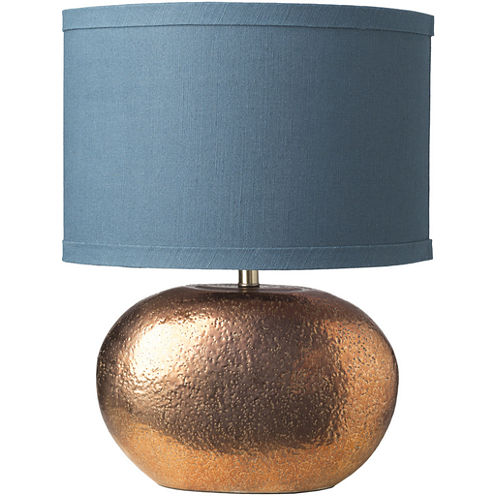 Décor 140 Crescent 16x16x23.75 Indoor Table Lamp- Gold