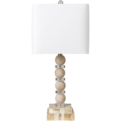 Décor 140 Deweyville 12x12x26.75 Indoor Table Lamp - Tan